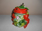 CHINESE FAMILLE ROSE TEA CANISTER