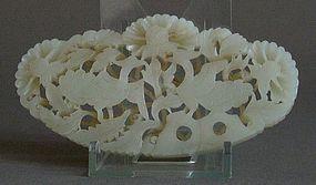 Chinese jade plaque