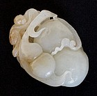 Chinese jade carving of a pendant