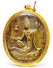 A Himalayan Gilt Bronze Seated Tara
