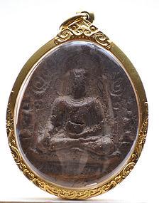 A Clay Buddha