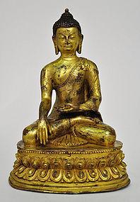 A Sino-Tibetan Sakyamuni Buddha