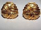 Hammerman Brothers 18K Gold Cufflinks or Earrings