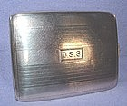Sterling Silver Cigarette Case circa 1930