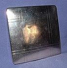 Sterling Silver Pressed Powder Compact circa 1940