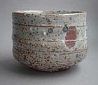 Matcha Chawan, Tea Bowl, Shino Glaze, George Gledhill