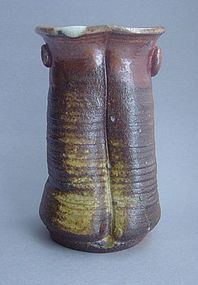 Woodfired Vase, Kabin, by George Gledhill