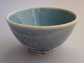 Bowl, Vietnam, Blue Glaze, ca. 15th-18th C.