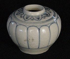 Ceramic Jarlet, Vietnam, ca. 15th-17th C.