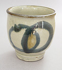Yunomi, Tea Cup, Tsuboya-yaki, Okinawa