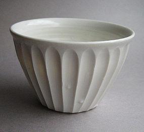 Shinogi, Faceted, Dessert Bowls by Hanako Nakazato