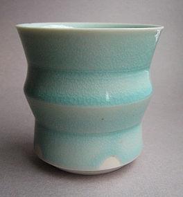 Yunomi, Tea Cup; Porcelain;Hanako Nakazato