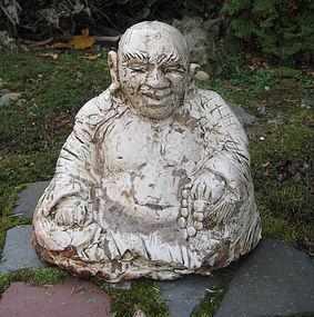 Hotei (Budai) Ceramic Sculpture byGeorge Gledhill
