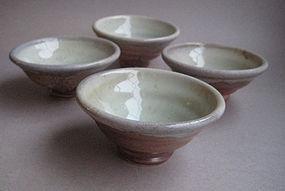 Guinomi, Sake Cup, John Benn (set of 4)