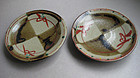 Round Dishes; Mashiko-yaki, Iasmu Tagami