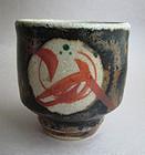 Yunomi, Tea Cup; Mashiko-yaki, Munetoshi Tagami