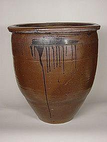 Mizugame (Water Storage Jar), Late Edo-EarlyMeiji Era
