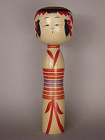 Kokeshi, Japanese Folk Toy, Yajiro-kei