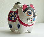 Saitama Inu Hariko (papier-mache dog,)Japanese Folk Toy