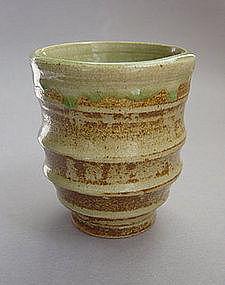 Mashiko Teacup, Yunomi, Hand-thrown
