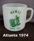 Nawcc Coffee Mug Atlanta 1974 Souvenir Mint
