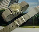 ROLEX 16mm Logo Buckle 17mm MESH METAL STRAP