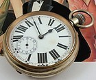68mm Swiss CARRIAGE WATCH Exposition Case C: 1905