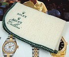 Rolex Cellini Presentation Polishing Cloth 9 by 6 inche