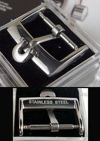 OMEGA 16mm Logo Buckle STAINLESS STEEL New