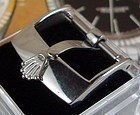ROLEX 16mm Steel Logo Buckle ACIERINOX ROLEXSA Swiss