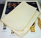 "ROLEX Polishing Cloth ""8"" by 6"" size. Circa: 1975 RA"