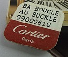 CARTIER Ladies 10mm Logo Buckle Yellow Gold Plate