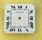 Cartier CEINTURE AUTOMATIQUE Rectangular Factory Dial