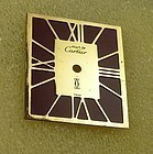 Cartier CAD TANK Mirror Two-Tone Factor Dial in Package