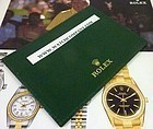 ROLEX Green certificate Credit Card Holder RA