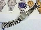 Vintage Rolex Deployment Bracelet Jubilee 20mm Half Moon Link Design