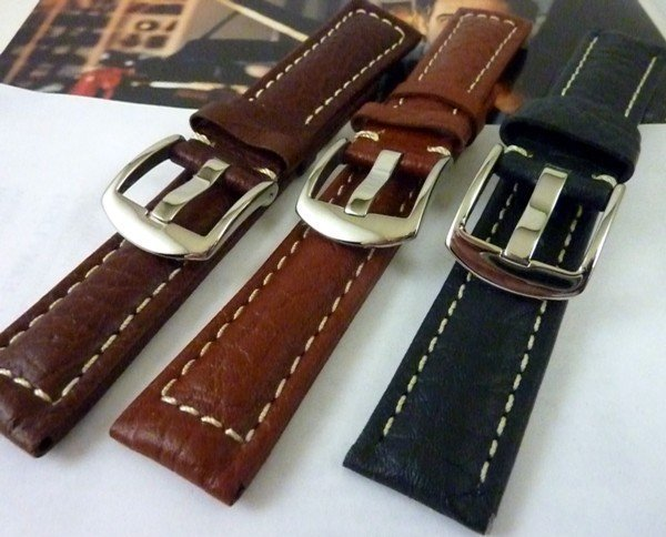 ROLEX SUBMARINER Model Stiched Strap Replacemebnt Choices