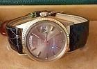 Rolex President 18k Rose Gold Bronze Dial Ref. 1803 C 1964