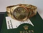 Rolex President 18k Rose Riveted Link Deployment Ref. 1803 C 1964