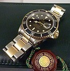 ROLEX 18k/Stainless SUBMARINER Ref. 16613 Box & Inner Box