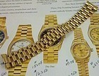 ROLEX PRESIDENT MODEL 18k Yellow Gold Hidden Clasp Deployment Bracelet