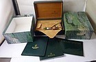 Vintage ROLEX  Box Stainless Steel AIR KING Box and Documents