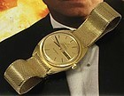 OMEGA 18k GOLD Constellation Cushion Bracelet Tapestry Dial 1968