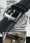 ROLEX 18mm Steel Logo Buckle Laser Marked ACIERNIOX ROLEXSA 20mm BLACK