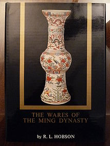 Book: The wares of the Ming dynasty, R.L. Hobson