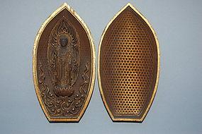 Zushi with Amida Buddha, Japan, around 1800