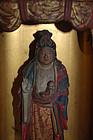 Nichiren zushi shrine, Kishimojin, baby, Japan ca 1800