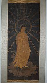 Painting, Amida Nyorai, raigo, Japan Muromachi period