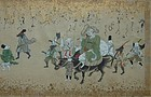 Handscroll, Daikoku and rats in sankin kotai procession, Japan, 19th c