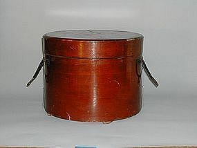 Bentwood portable food container, Japan, 19th century